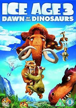 póster de la película de animación infantil Ice age 3