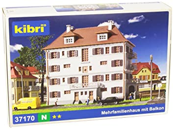 Kibri - Maqueta de Edificio Escala 1:160 (37170): Amazon.es ...