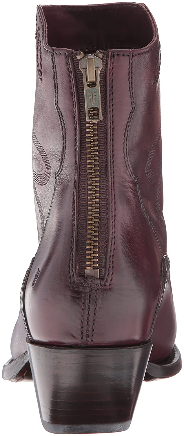 FRYE Women's Shane Embroidered Short Western Boot B01BNWQIAO 5.5 B(M) US|Bordeaux