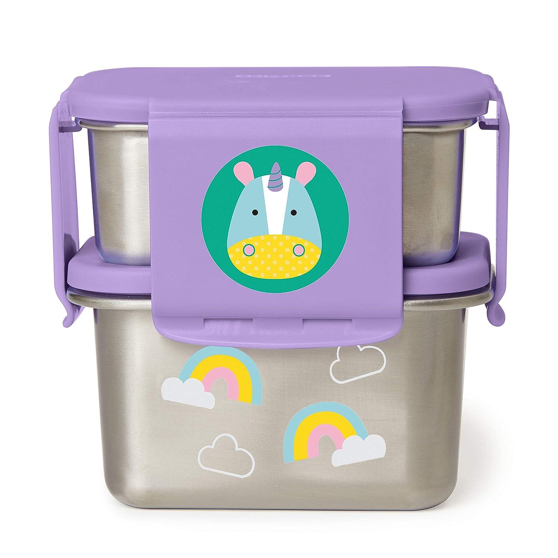 Skip Hop Stainless Steel Toddler Lunch Kit, Unicorn