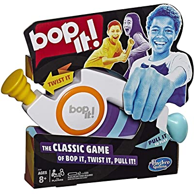Hasbro Gaming Bop It! Electronic Game for Kids Ages 8 & Up: Toys & Games
