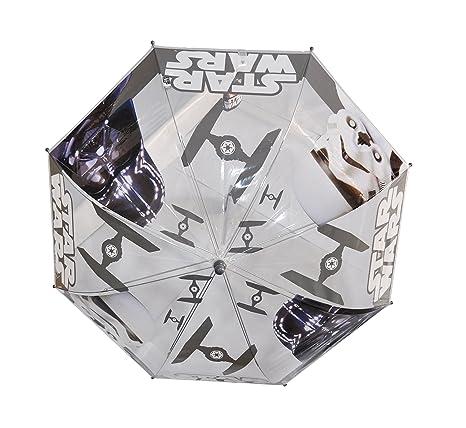 Paraguas Star Wars Infantil Transparente Manual