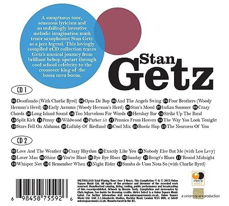 Stan Getz - Immortal Soul - Amazon.com Music