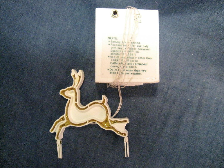 Dept 56 Brite Lites Lighted Reindeer Village Accessory ~ NEW IN BOX