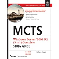 MCTS Windows Server 2008 R2 (3 In 1) Complete Study Guide: Exam 70-640,70-642,70-643