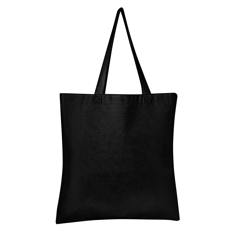 Amazon.com  BagzDepot 100% Durable Canvas Plain Tote Bags cdd15941b3da