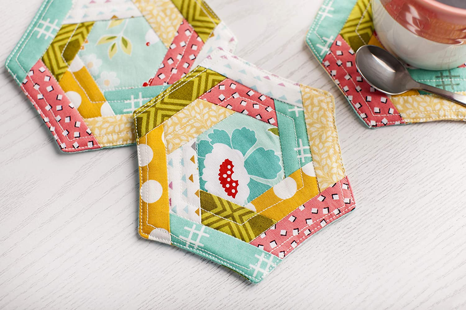 Cricut Designer Fabric Sampler on Trend