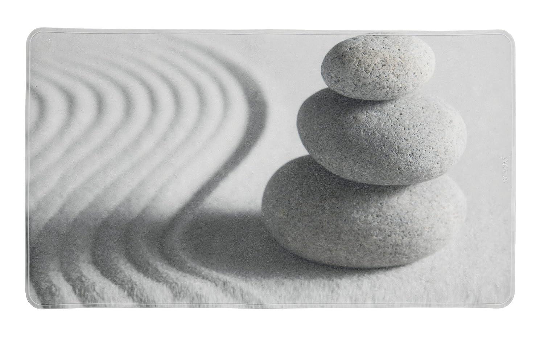 Wenko Duscheinlage Astera, 54x54cm, Thermoplastischer Kunststoff (TPR), Weiß, 54 x 54 x 0.1 cm Weiß 23156100