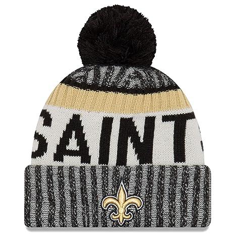 ae514142705 ... usa new era new orleans saints nfl sideline on field 2017 sport knit  beanie beany cb802