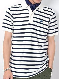Pile Stripe Polo 112-12-0842: Off White