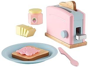 KidKraft Pastel Toaster Playset