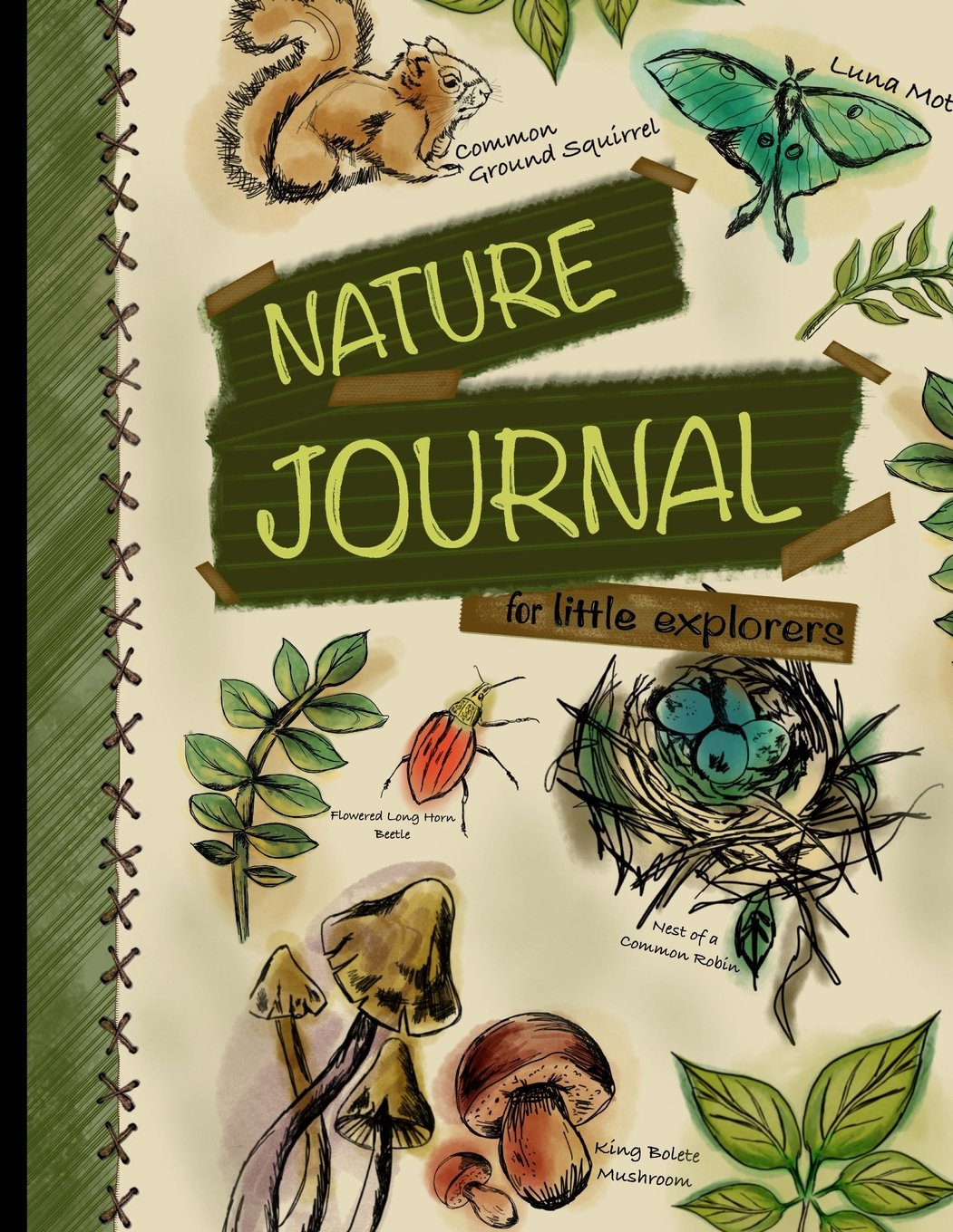 Download Nature Journal For Little Explorers: Kids Nature Journal/Nature Log Activity Book; Fun Nature Drawing And Journaling Workbook For Children PDF