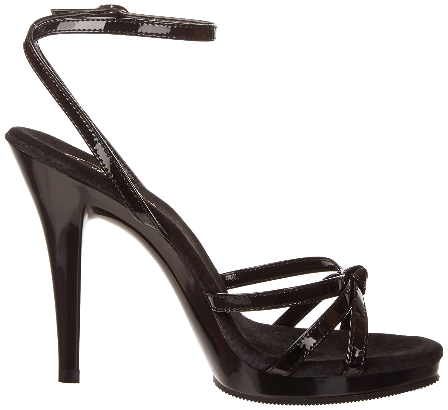 Fabulicious Women's Flair 436 Dress Sandal B001RWOUO2 16 B(M) US|Black