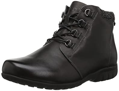 Propet Women's Delaney Ankle Bootie, Black, ...