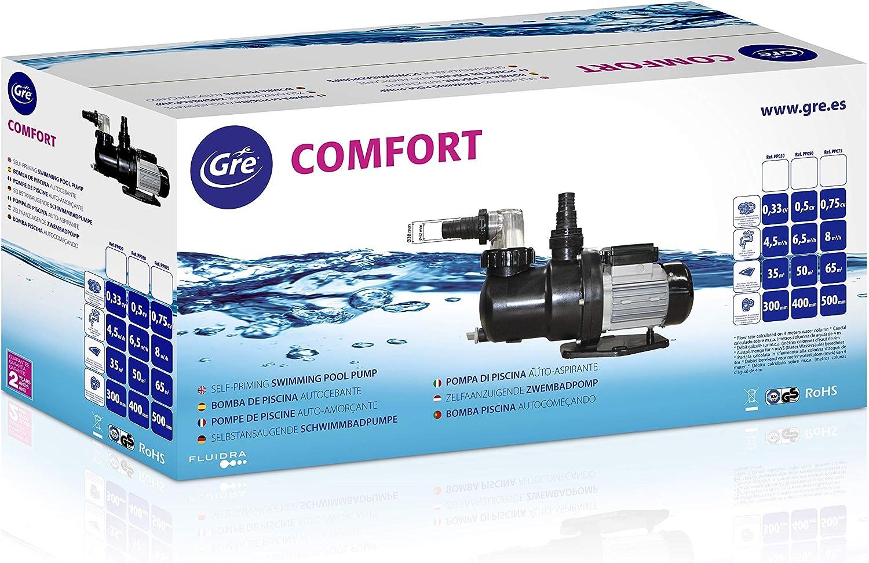 20.000 l//h 900 W Gre PP101 Filterpumpe f/ür einen Pool