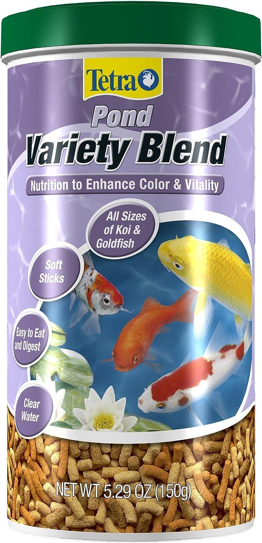 Tetra Pond 16455 5.29 Oz Variety Blend Pond Fish Food