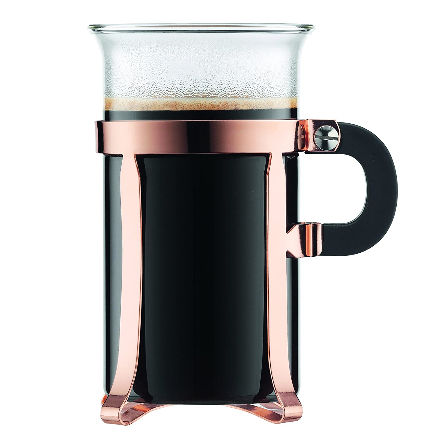 Bodum french press replacement glass - Amazon Com Bodum Chambord Classic 2 Piece Coffee Glass 10 Oz Copper Kitchen Dining