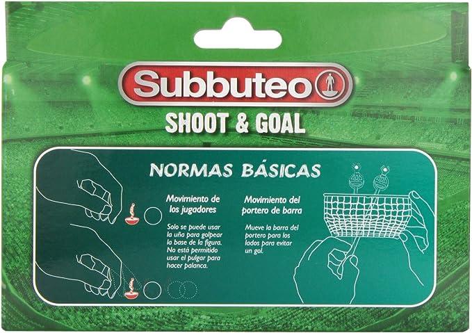 Hasbro Subbuteo Shoot and Goal, Ninguna (A5166105): Amazon.es: Juguetes y juegos