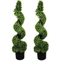 GreenBrokers 2 árboles en Espiral de Madera