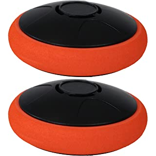 Sunnydaze Tabletop Rechargeable Hockey Hover Puck, 2-Inch, Set of 2