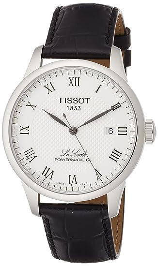 TISSOT RELOJ DE HOMBRE AUTOMÁTICO 39MM CORREA DE CUERO T0064071603300: Amazon.es: Relojes