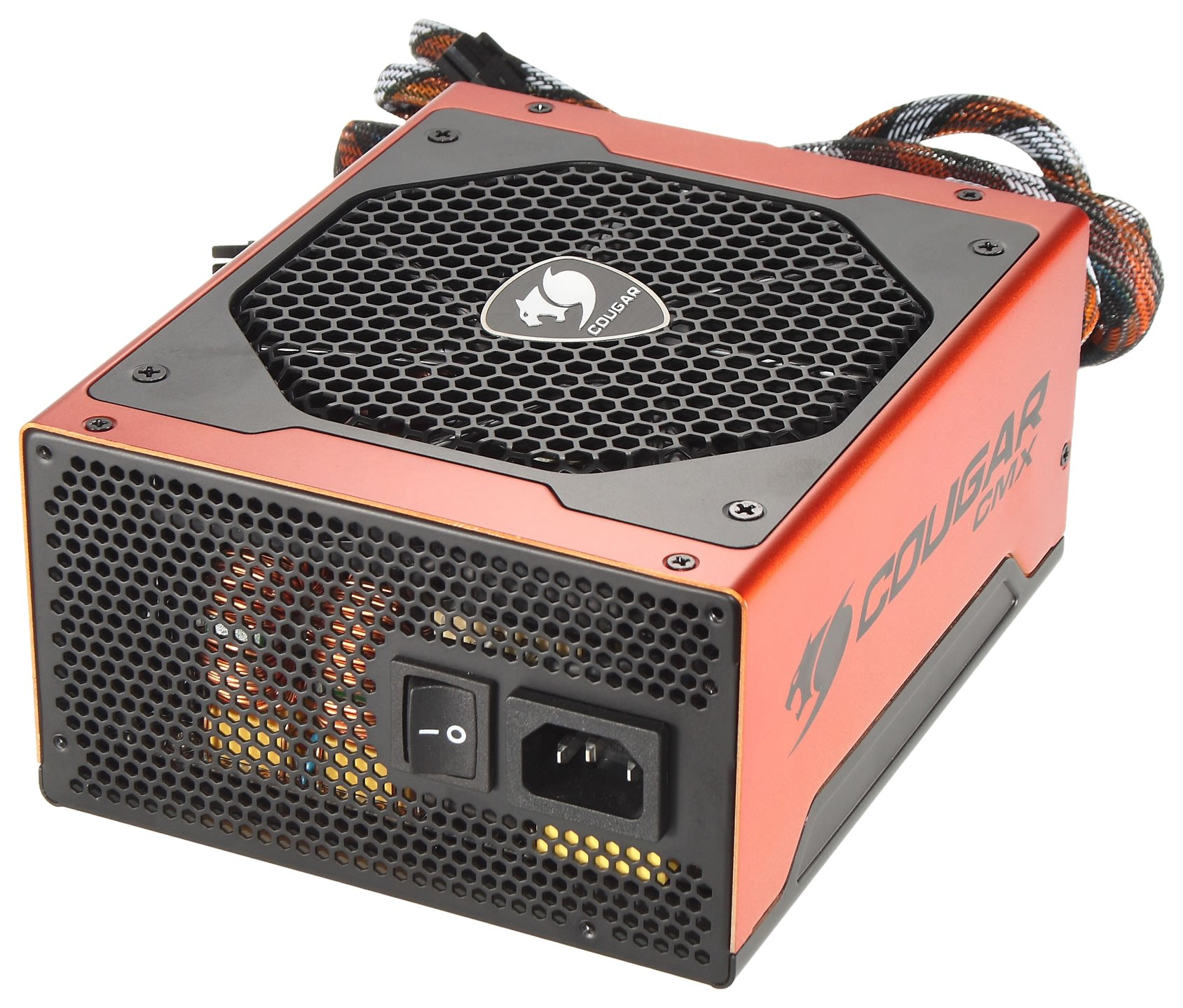 COUGAR CMX1000 / 1000CMX 1000W ATX12V / EPS12V SLI Ready CrossFire Ready 80 PLUS BRONZE Certified flexible cable management Active PFC Power Supply by Cougar (Image #1)