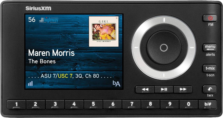 SiriusXM SXPL1V1 Onyx Plus Satellite Radio with Vehicle Kit With Free 3 Months Satellite and Streaming Service Audiovox Sirius