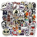 Halloween Theme Stickers Laptop Stickers The Nightmare Before Christmas and Tim Burton's Sticker Waterproof Bike…
