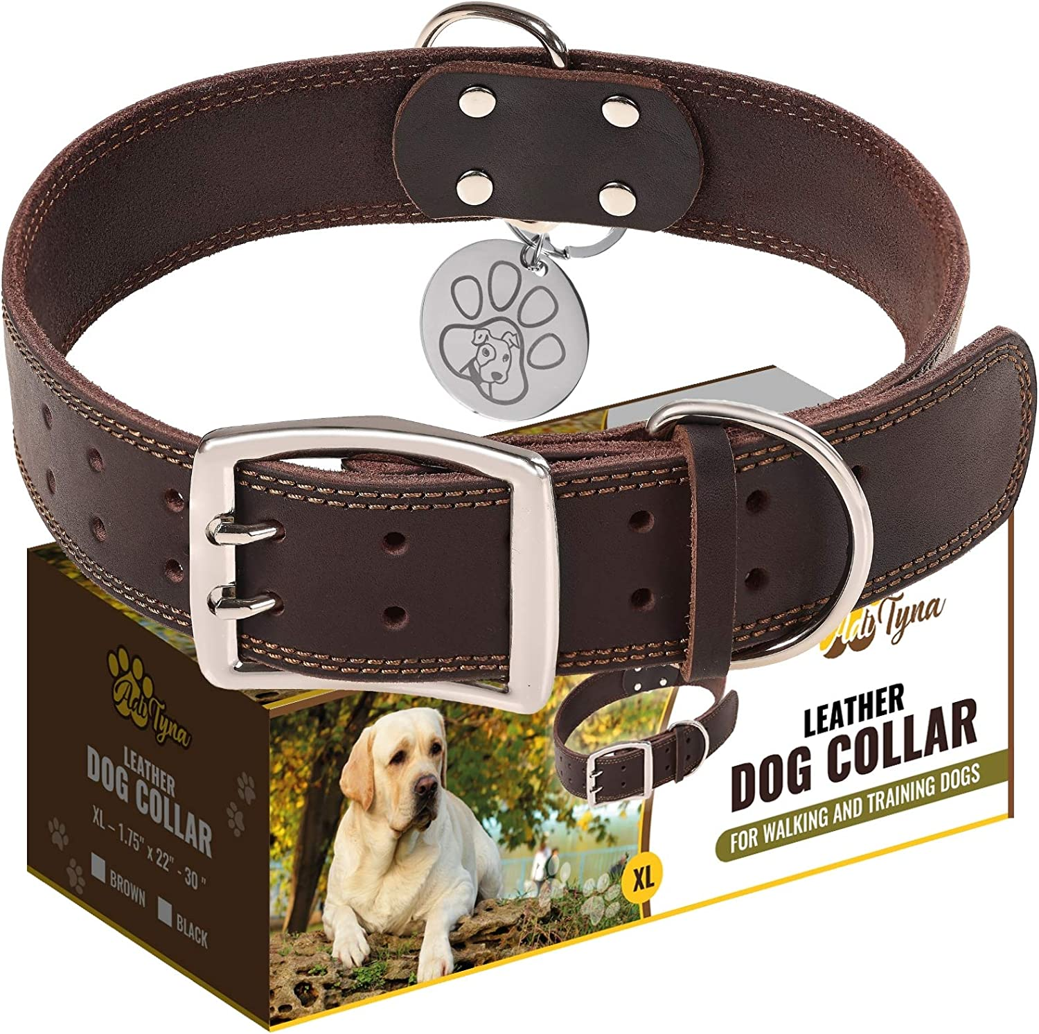 ADNITYNA Leather Dog Collar Review