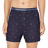Nautica Men's Classic Cotton Loose Knit Boxer