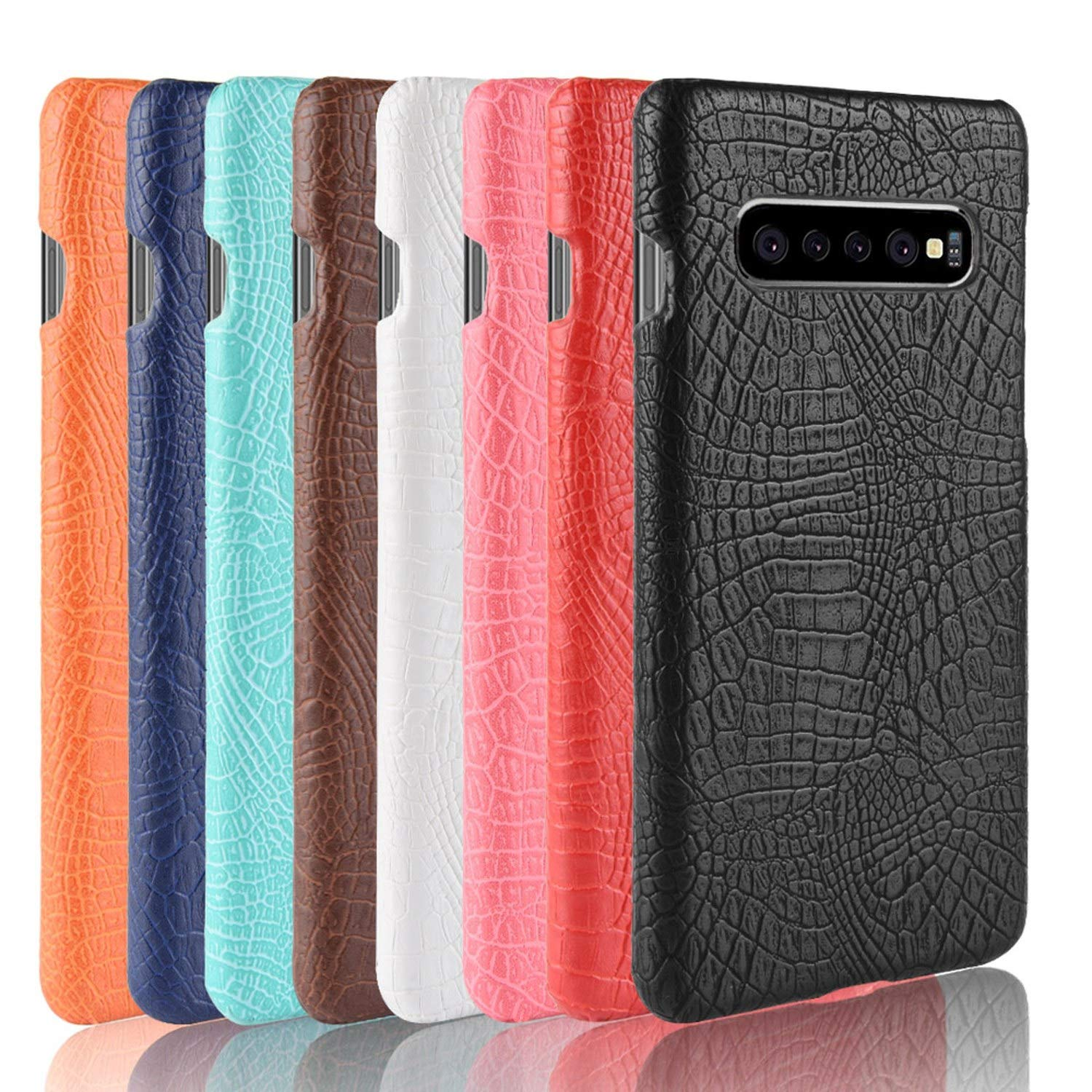 Amazon.com: Crocodile Snake Leather Case Back Cover for ...