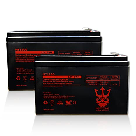 Amazon Com 2x 12v 9ah Battery For Apc Back Ups Xs1500 Rbc109 Ps