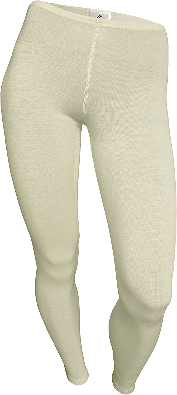 Utenos 100/% Merino Wool Womens Base Layer Extended Pants Underpants made in EU
