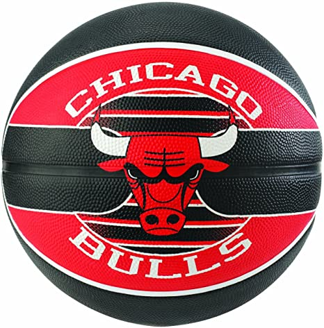 Spalding NBA Team Chicago Bulls Ball Balón de Baloncesto, Unisex ...