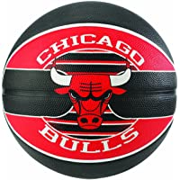 Spalding NBA Team Chicago Bulls Ballon de Basket Mixte