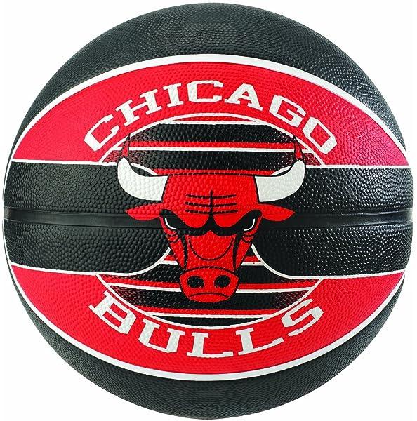 Spalding NBA Team Chicago Bulls 83-503Z Balón de Baloncesto ...