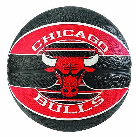 Ballon Spalding NBA team ball Chicago Bulls: Amazon.es: Deportes y ...