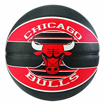 Ballon Spalding NBA team ball Chicago Bulls: Amazon.es: Deportes y ...