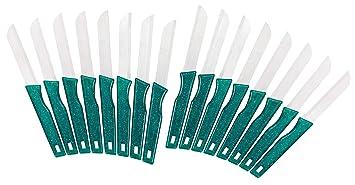 DESERMO 16x Cuchillos Multiusos Afilados, Cuchillos para ...