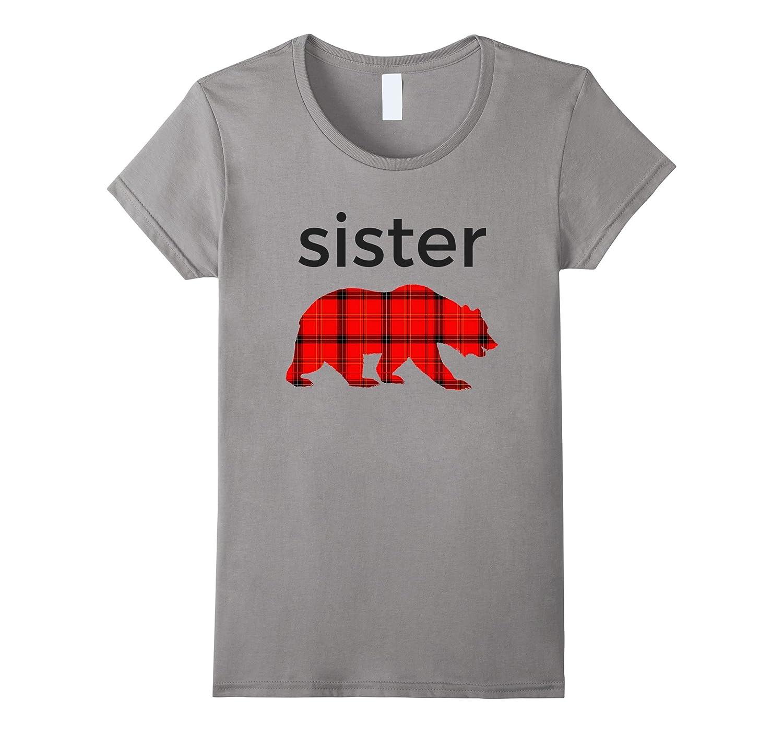 ea8531c6 Papa Bear Mama Bear Baby Bear Shirts Sister Bear Plaid Shirt-ANZ ...