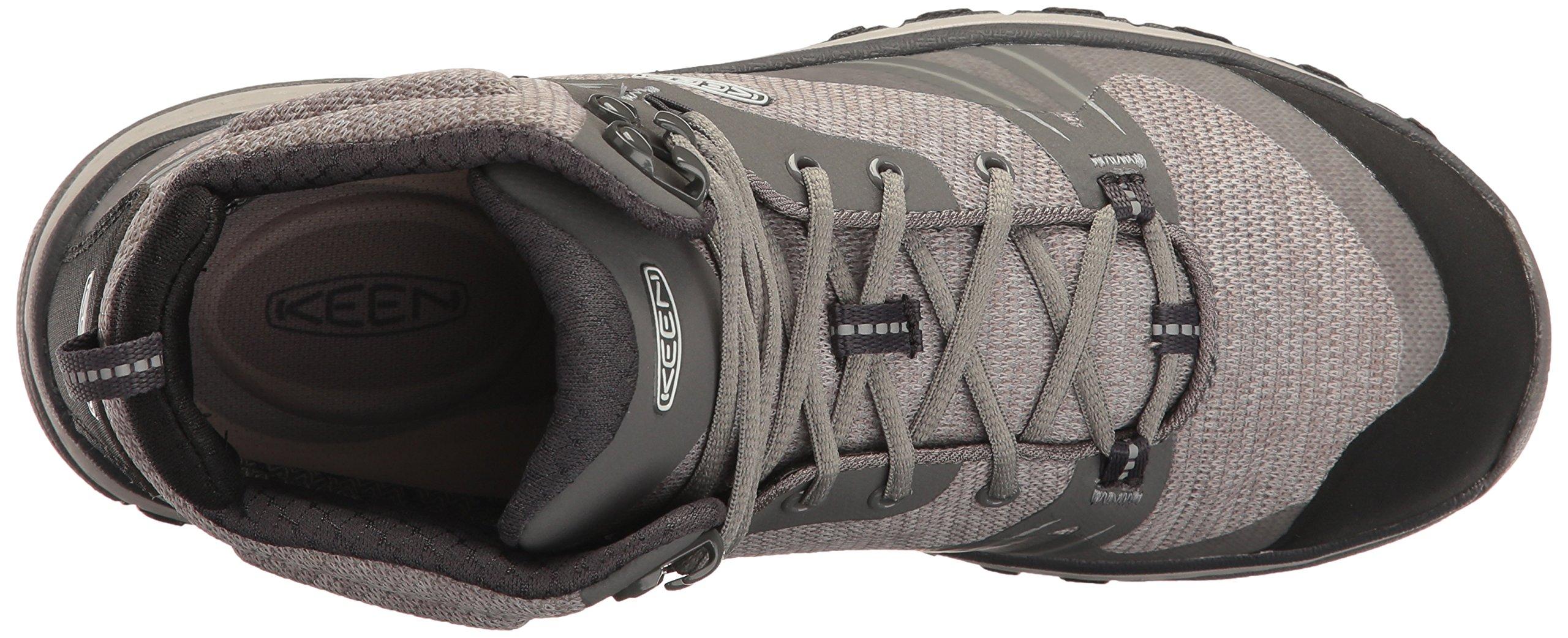 KEEN Women's Terradora Mid Waterproof Hiking Shoe, Gargoyle/Magnet, 9 M US by KEEN (Image #8)