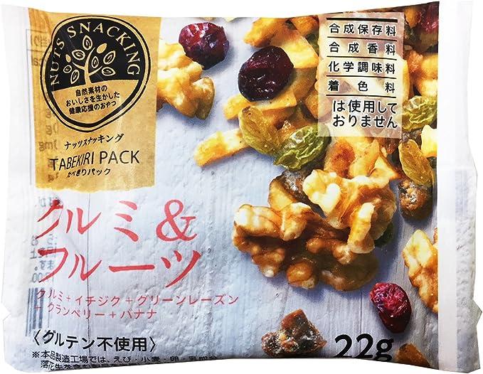 MD ナッツスナッキングTP クルミ&フルーツ 22g×12袋