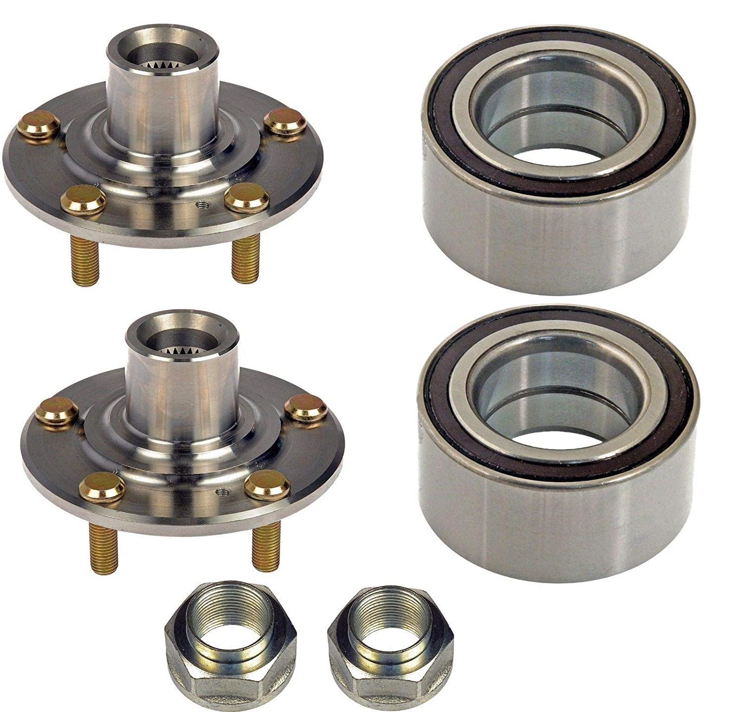 Front PROFORCE 515059 Premium Wheel Bearing and Hub Assembly