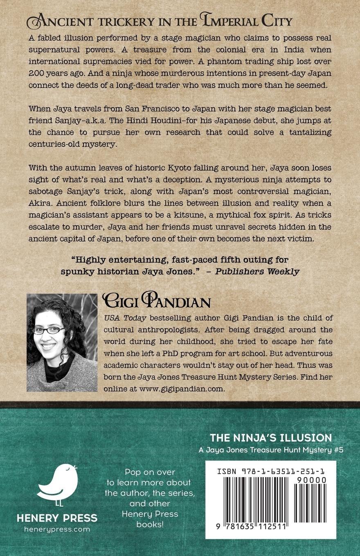 The Ninjas Illusion: Volume 5 A Jaya Jones Treasure Hunt ...
