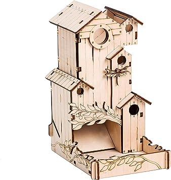 TowerRex Dice Tower - Canción de pájaro para Wingspan: Amazon.es: Juguetes y juegos