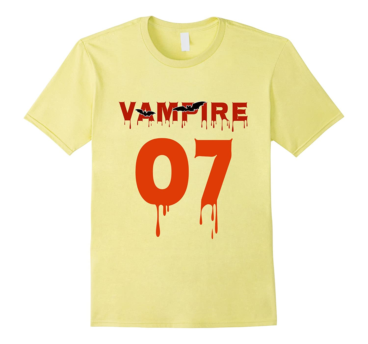 7th Birthday shirt Vampire Halloween-TJ