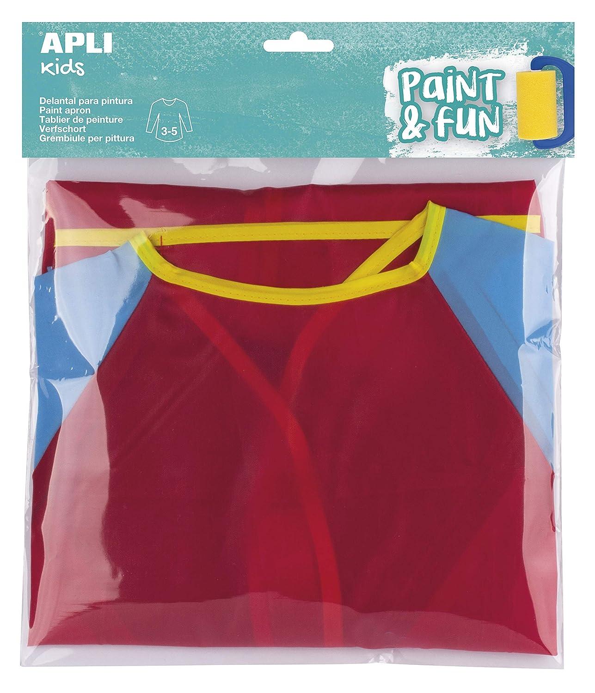 APLI Kids - Delantal para pintura 1 u.: Amazon.es: Juguetes y juegos