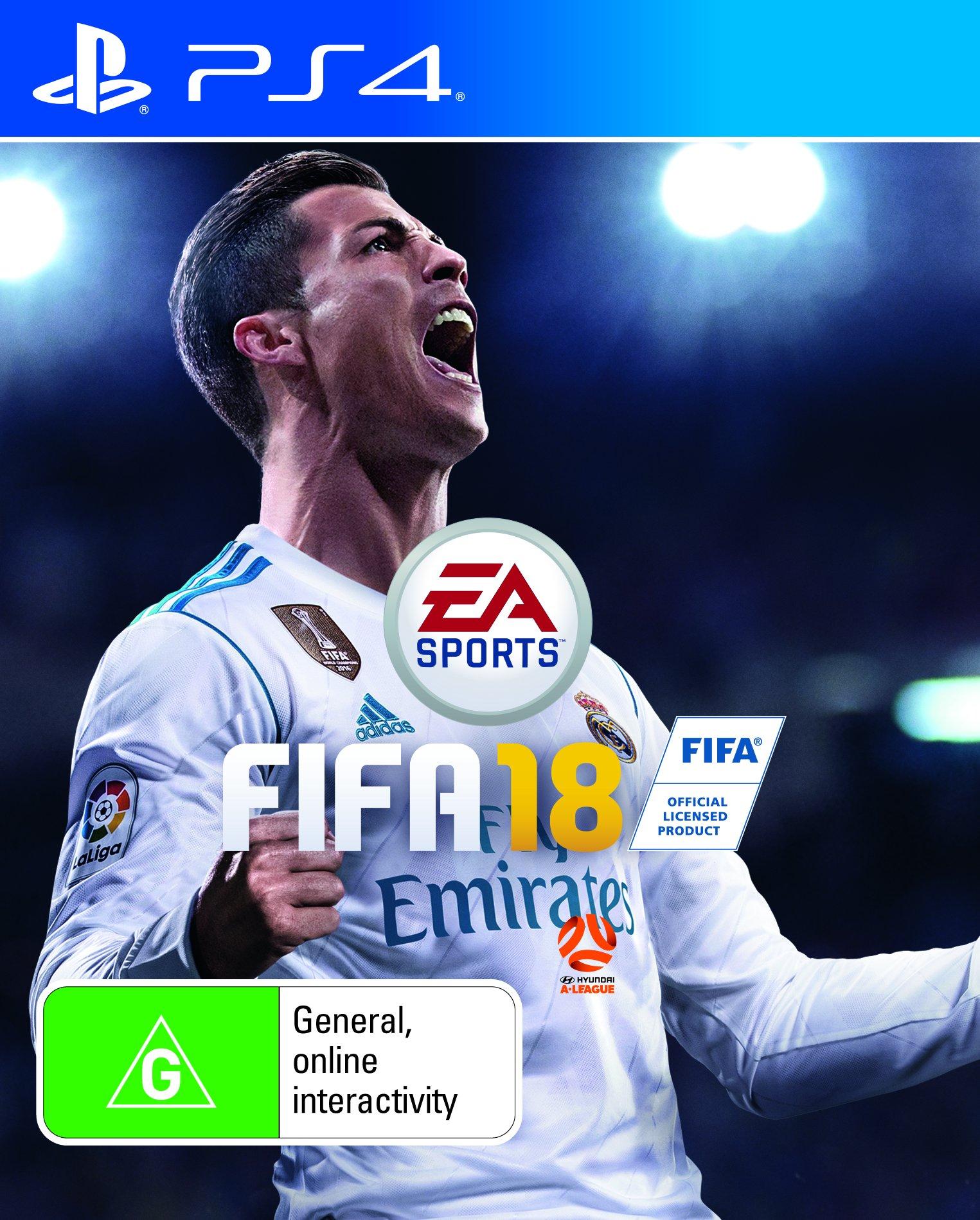FIFA 18 PS4 Playstation 4 Game