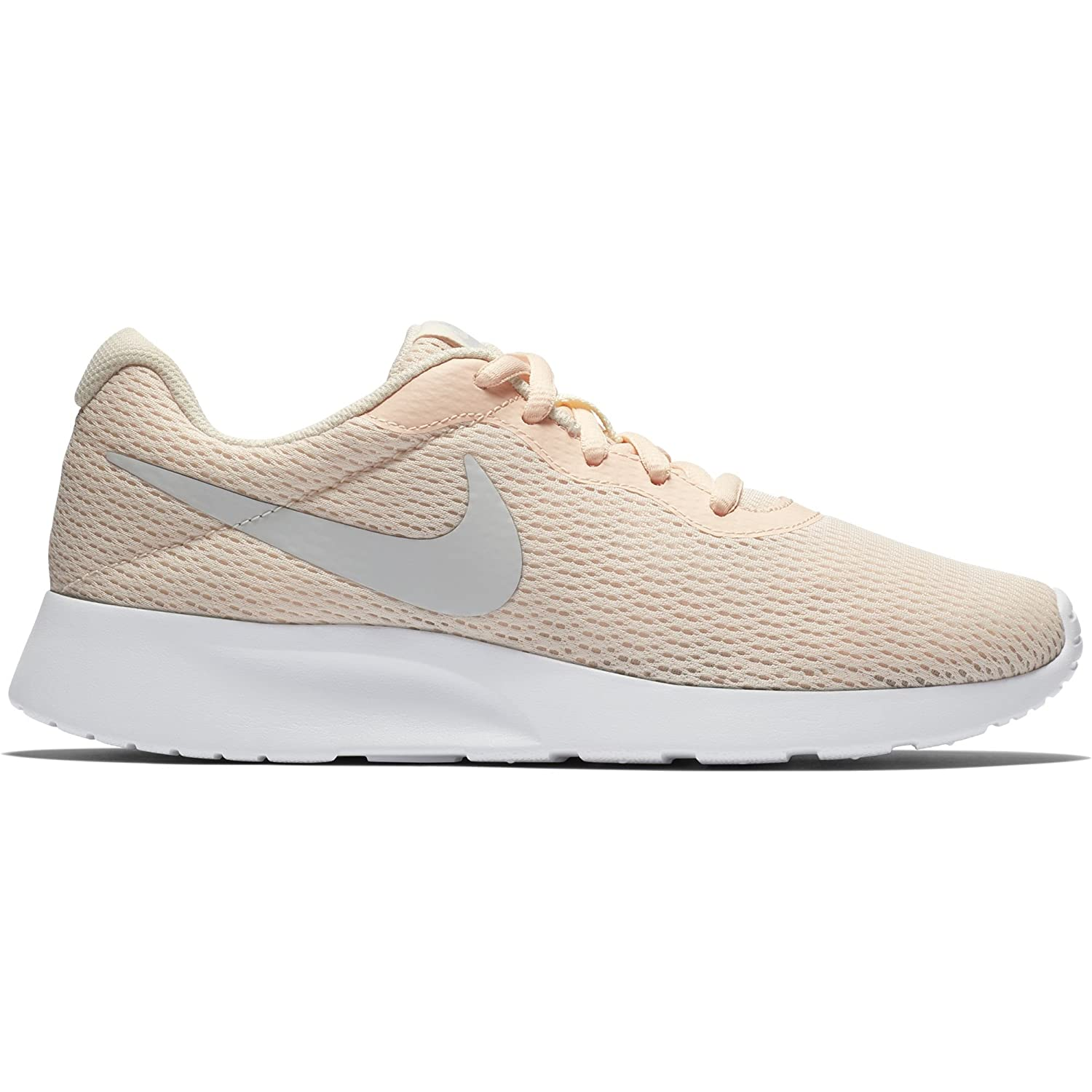 NIKE Women's Tanjun Running Shoes B07CY6SD2Y 8 B(M) US|Guava Ice/Vast Grey/White