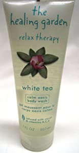 The Healing Garden Relax Therapy White TEA Body Wash Gel - 7 Oz.